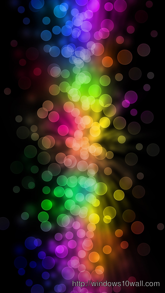 Abstract Dots iPhone 5 Background Wallpaper