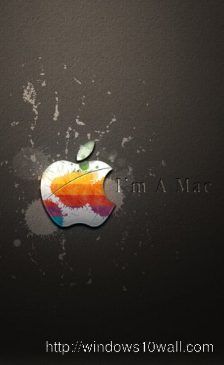 Apple iPhone Logo Abstract Background Wallpaper