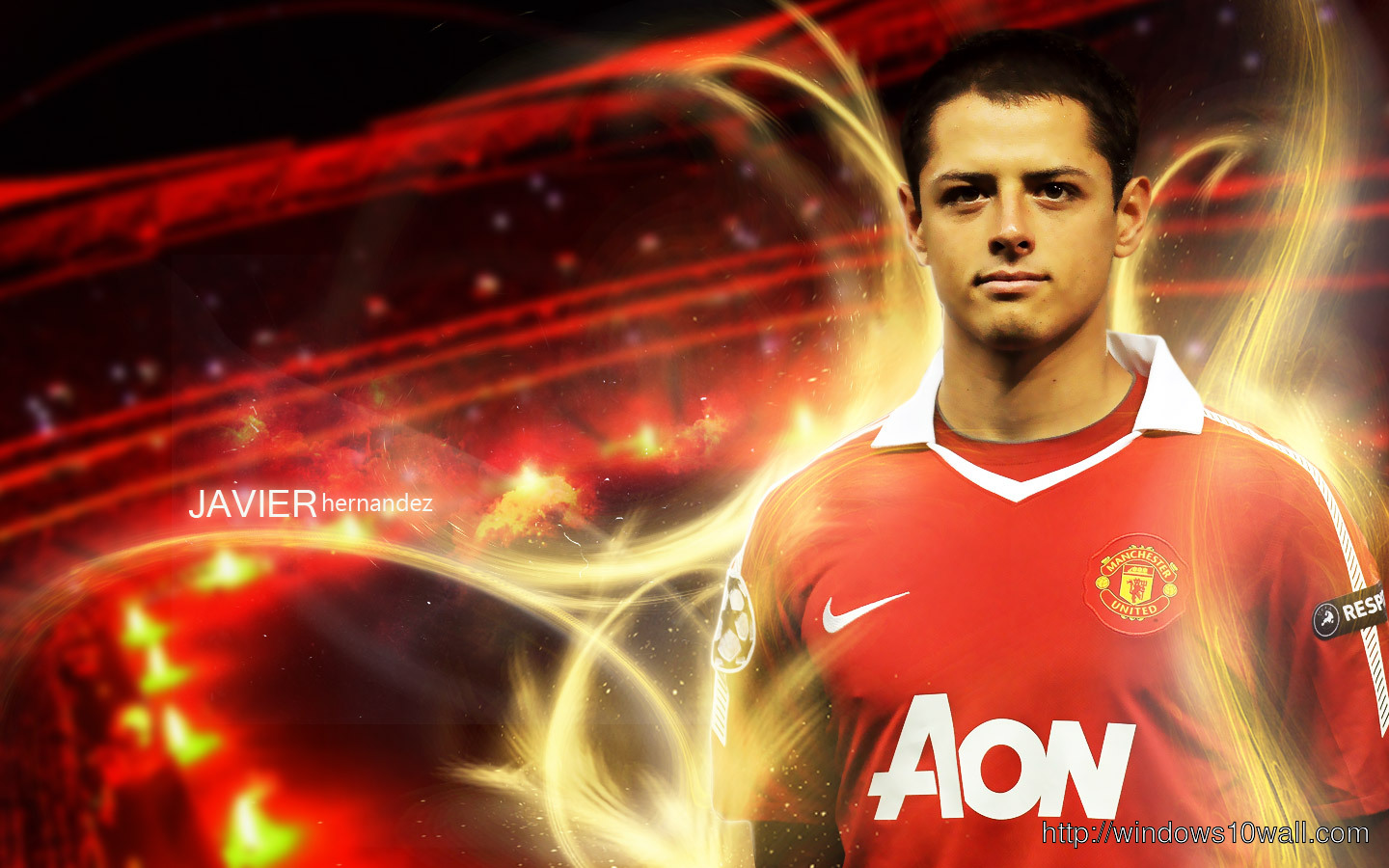 Soccer Player Javier Hernandez Chicharito