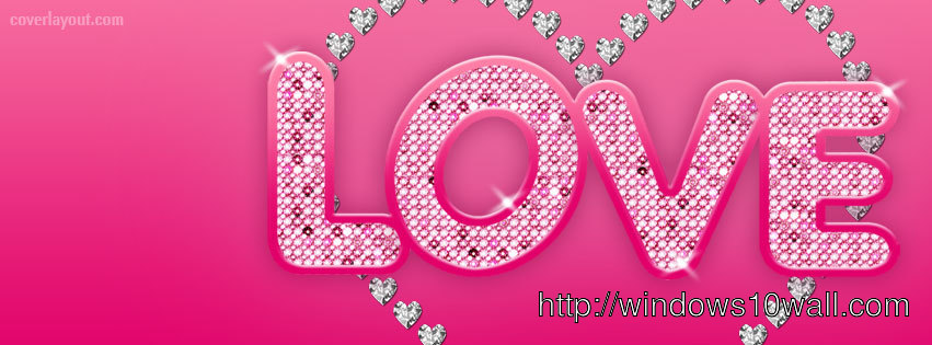 Love Cute Text Facebook Background Timeline Cover