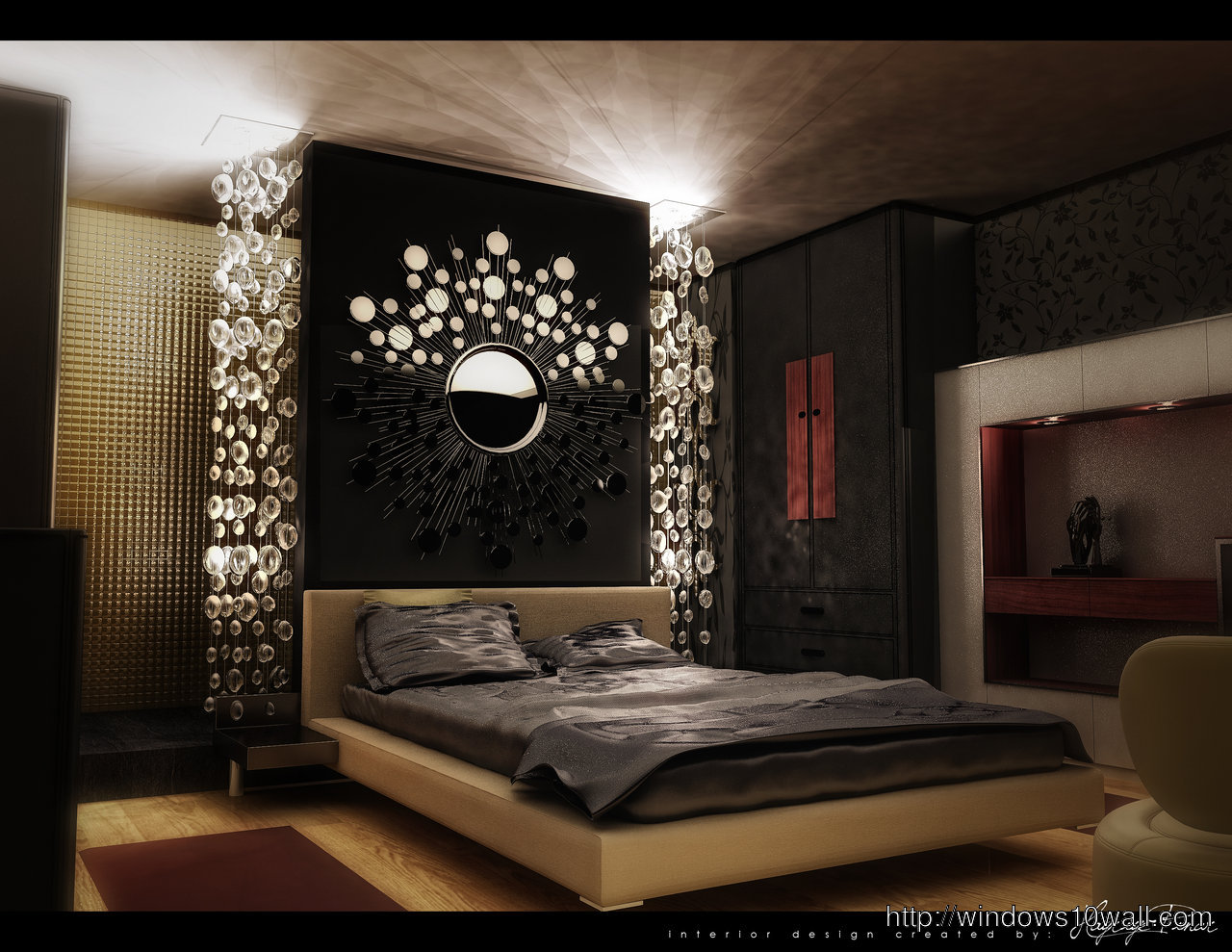 Awesome Luxury Bedroom Design