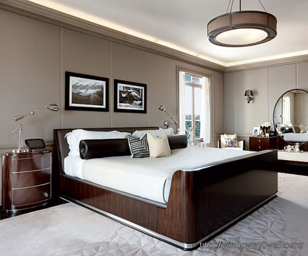 Luxury Bedroom Designs Ideas Background Wallpaper