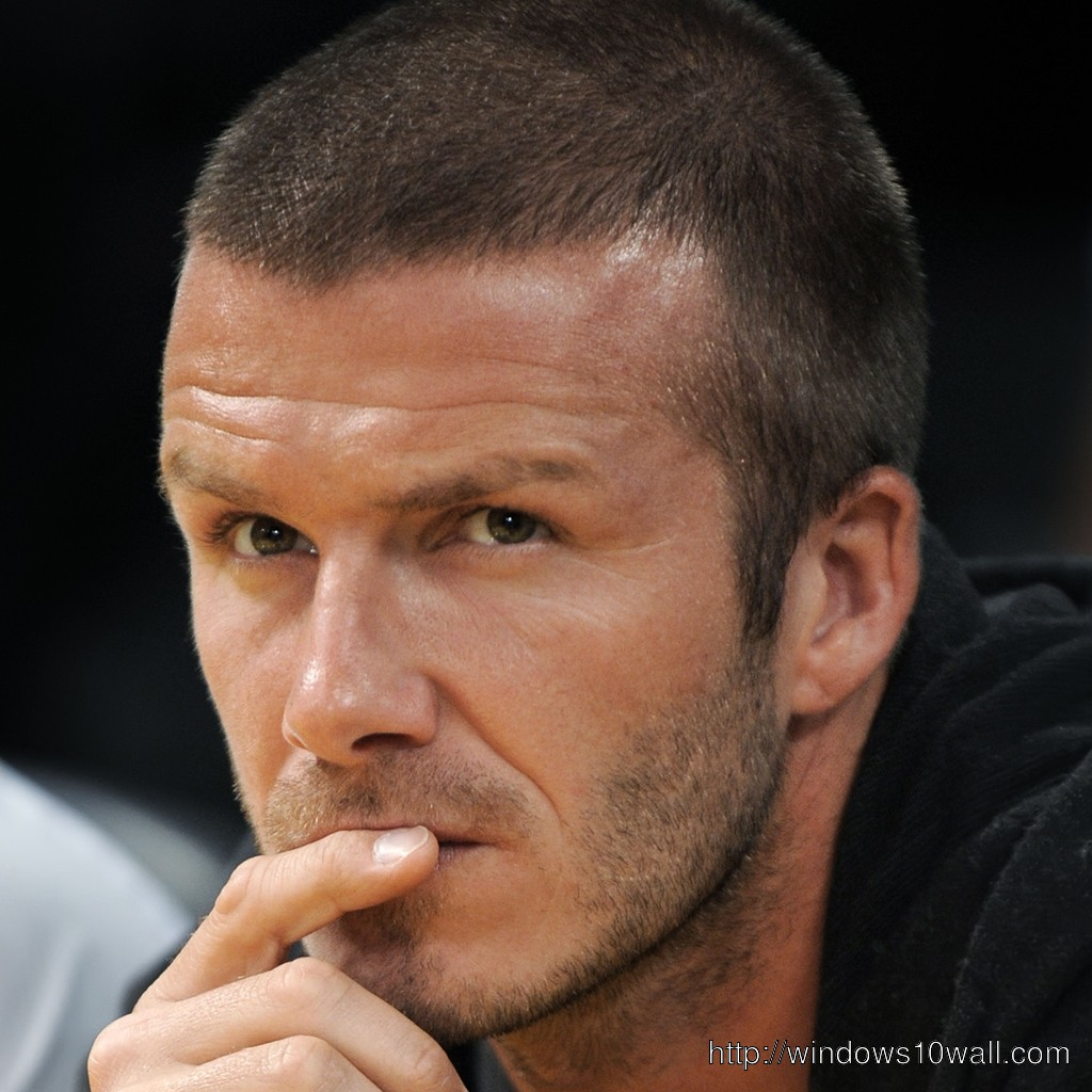 David Beckham Background Wallpaper