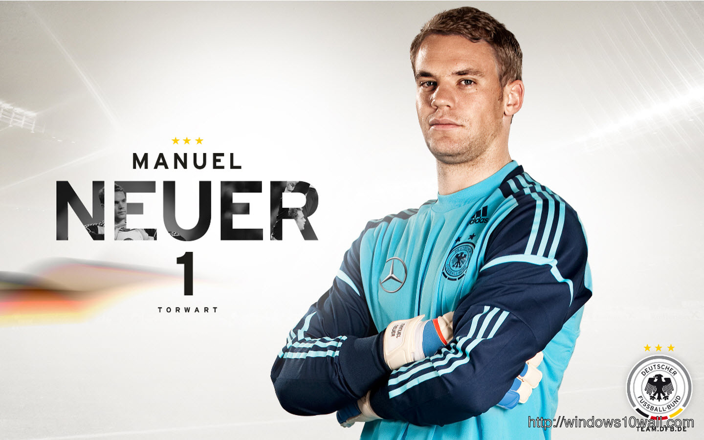 Sports Stars Manuel Neuer Background Wallpaper