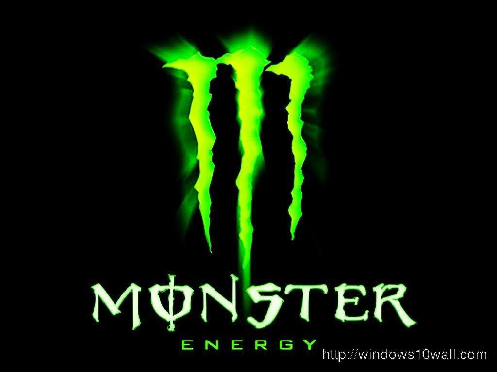 Monster Energy Background Logo