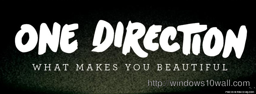 Band One Direction Facebook Background Cover