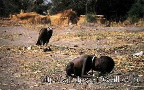 Sudan Famine UN food camp 1994