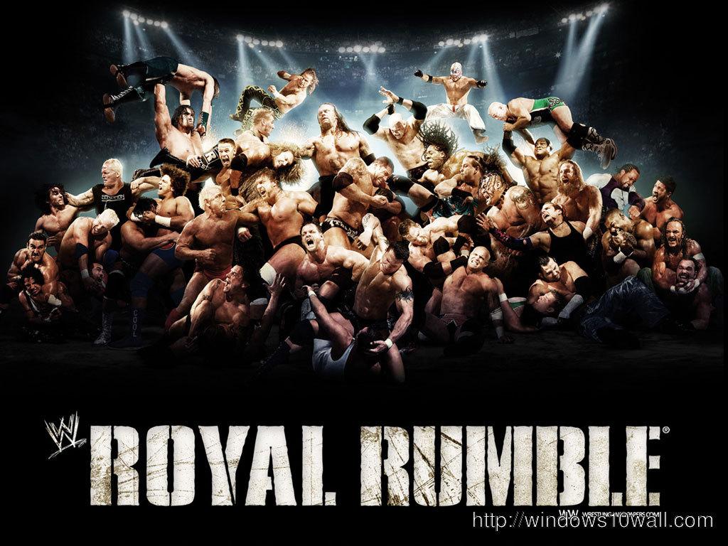 Popular Royal Rumble Background Wallpaper