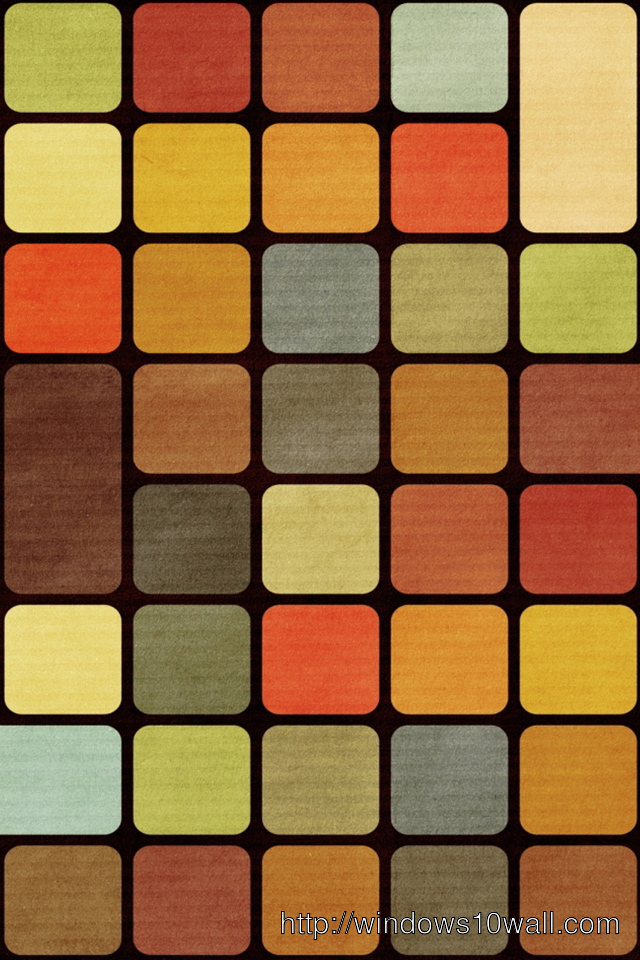 Squares Retro Vintage iPhone Background Wallpaper