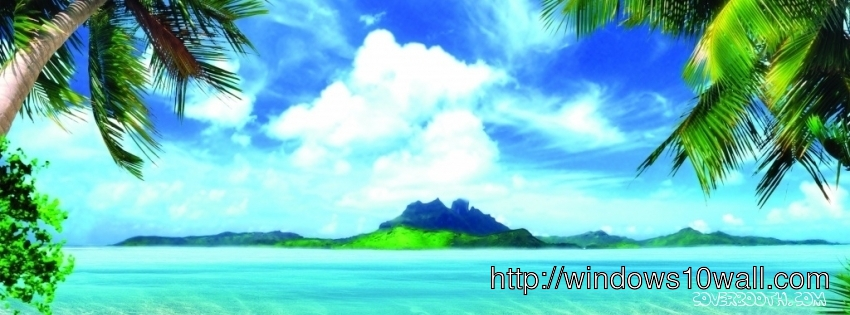 summer beach nature facebook background cover