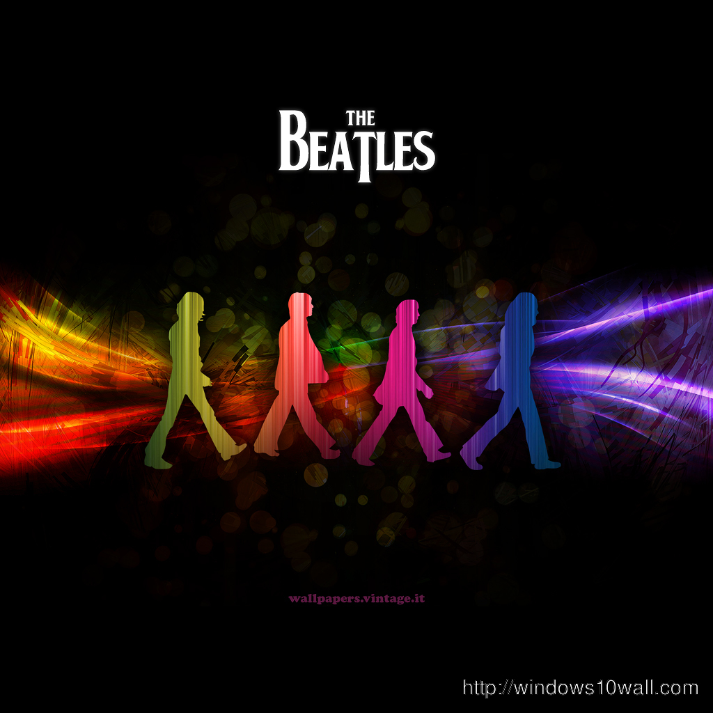 The Beatles iPad Wallpaper