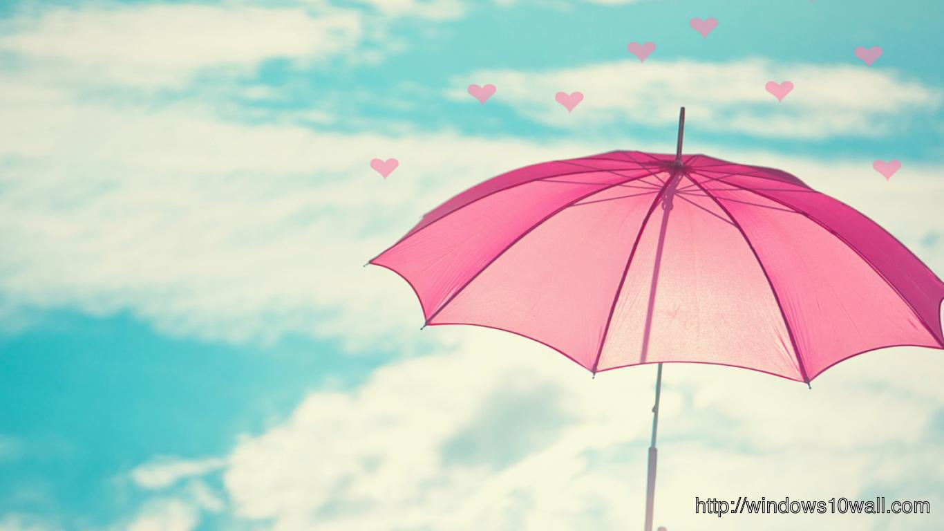Umbrella Facebook Background Wallpaper