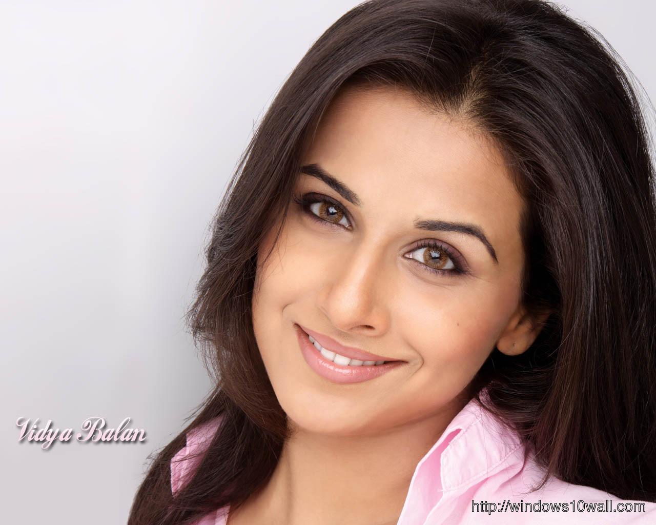 Vidya Balan in Pink Background Wallpaper