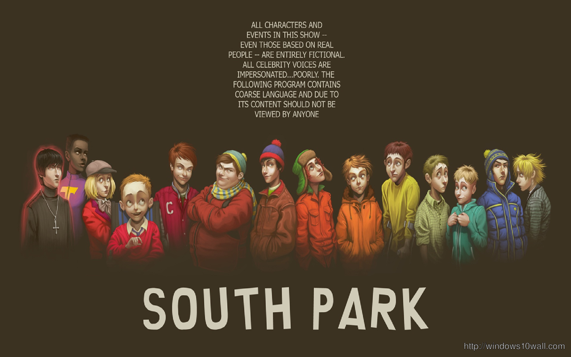 real south park wallpaper