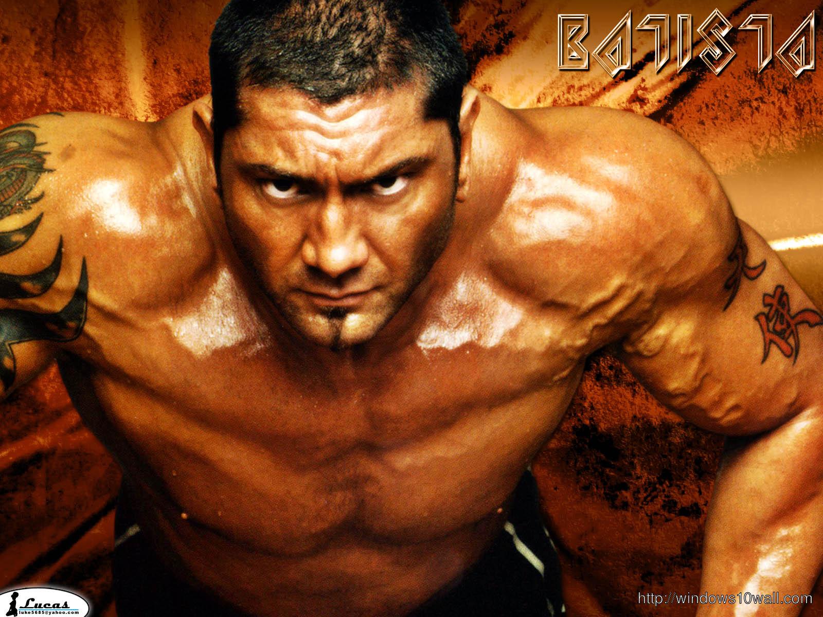 Batista Wrestling Wallpaper