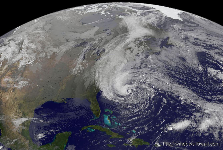 Hurricane Sandy Global Map View