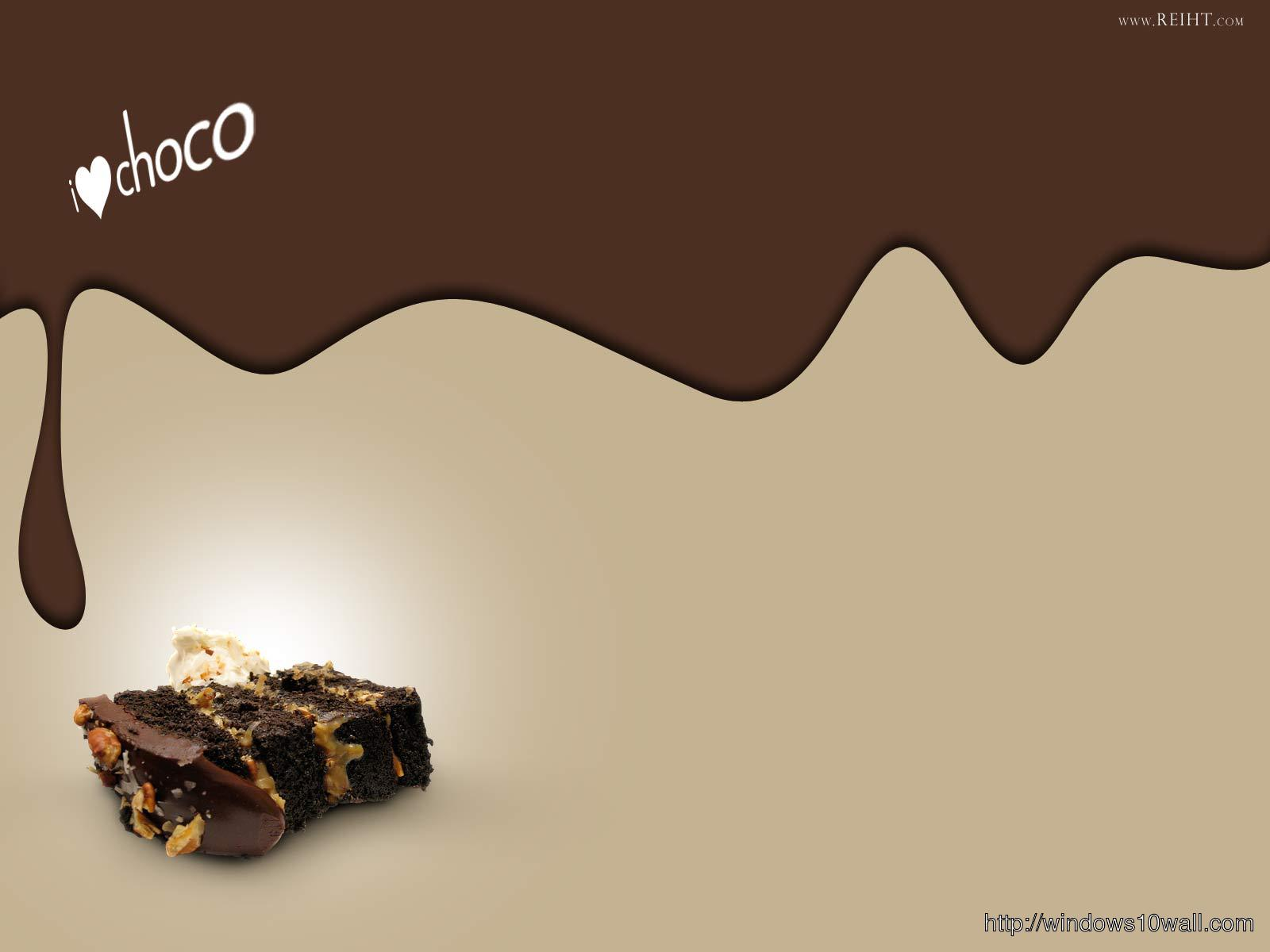 Brown Chocolate Background Wallpaper