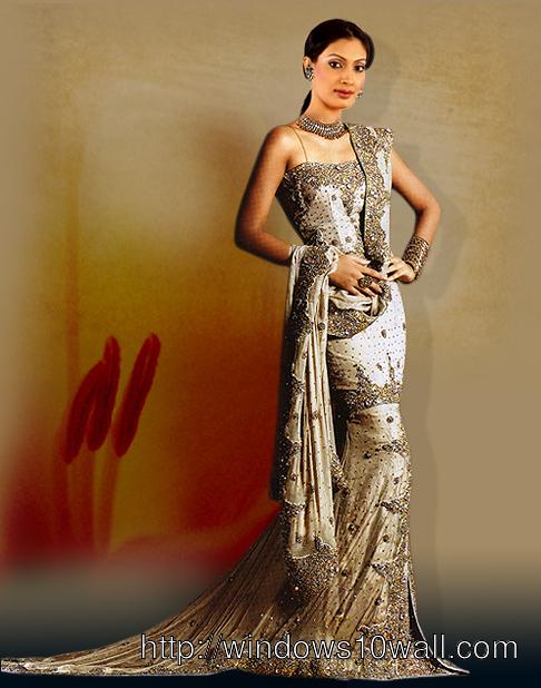 Indian Bridal Dress Wallpaper