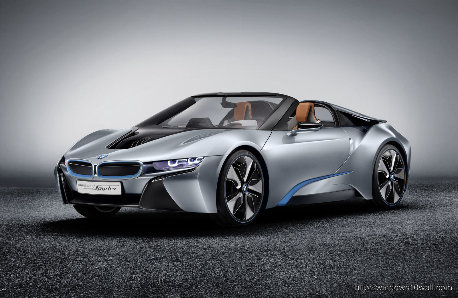 BMW i8 Concept Spyder 2013 Background Wallpaper