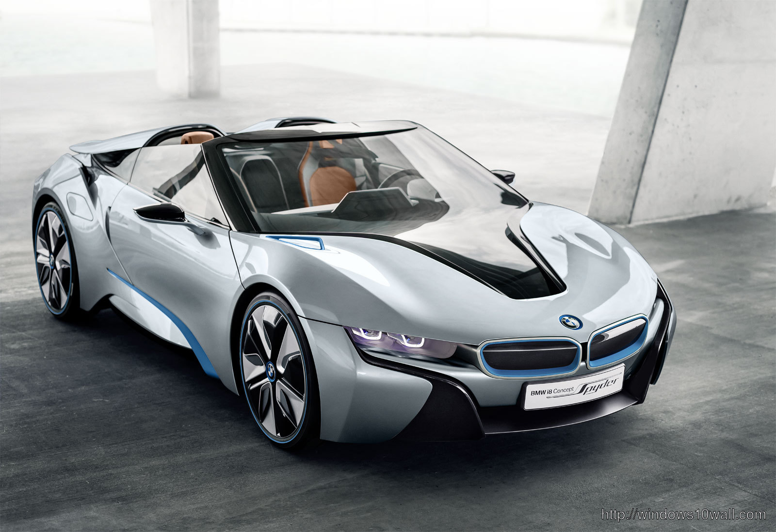 BMW i8 Concept Spyder 2013 Desktop Background Wallpaper