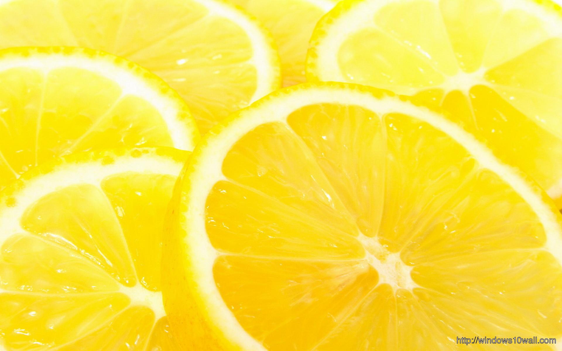 Lemon Background Image