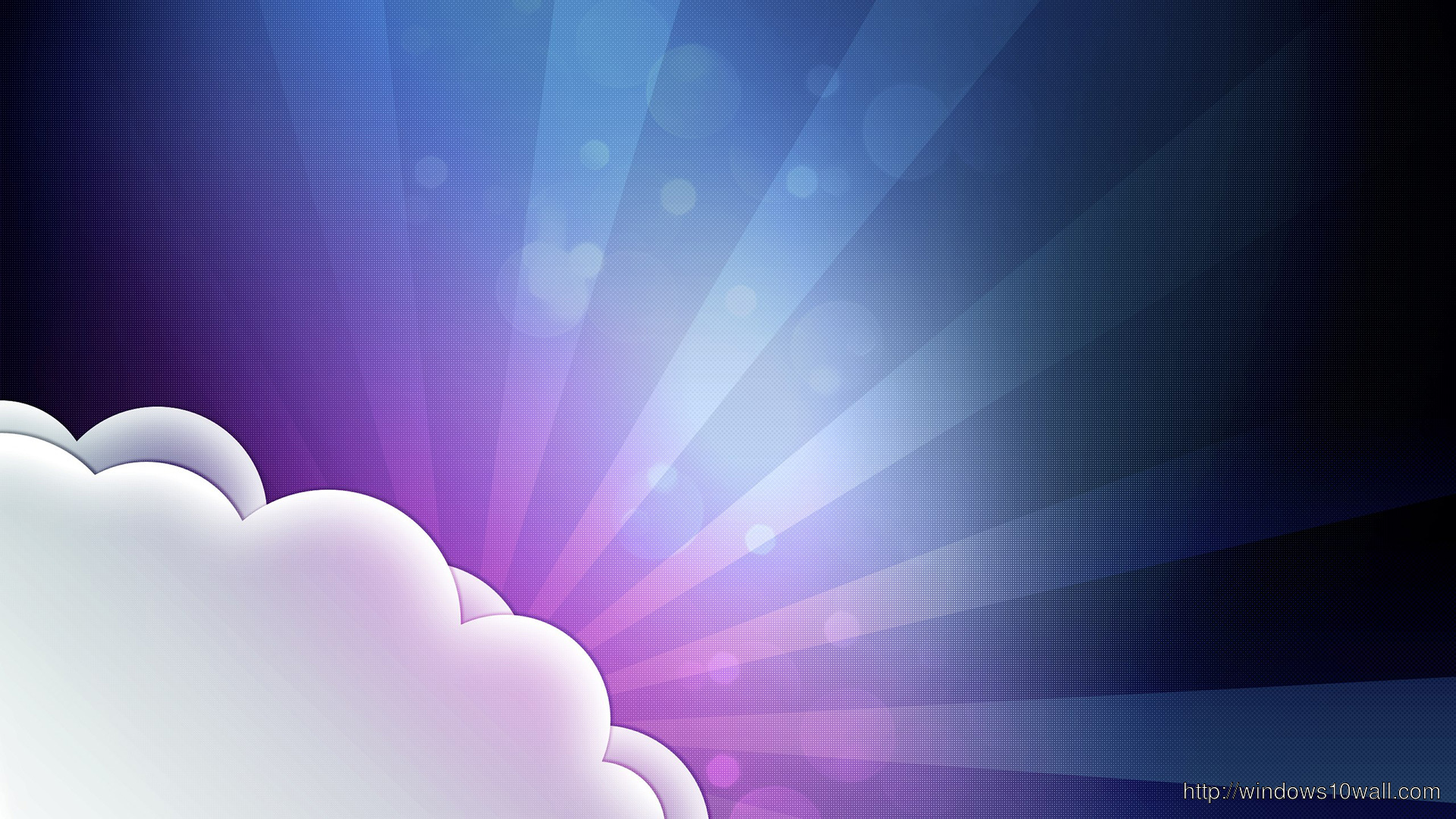 Cloudy Twitter Background Image