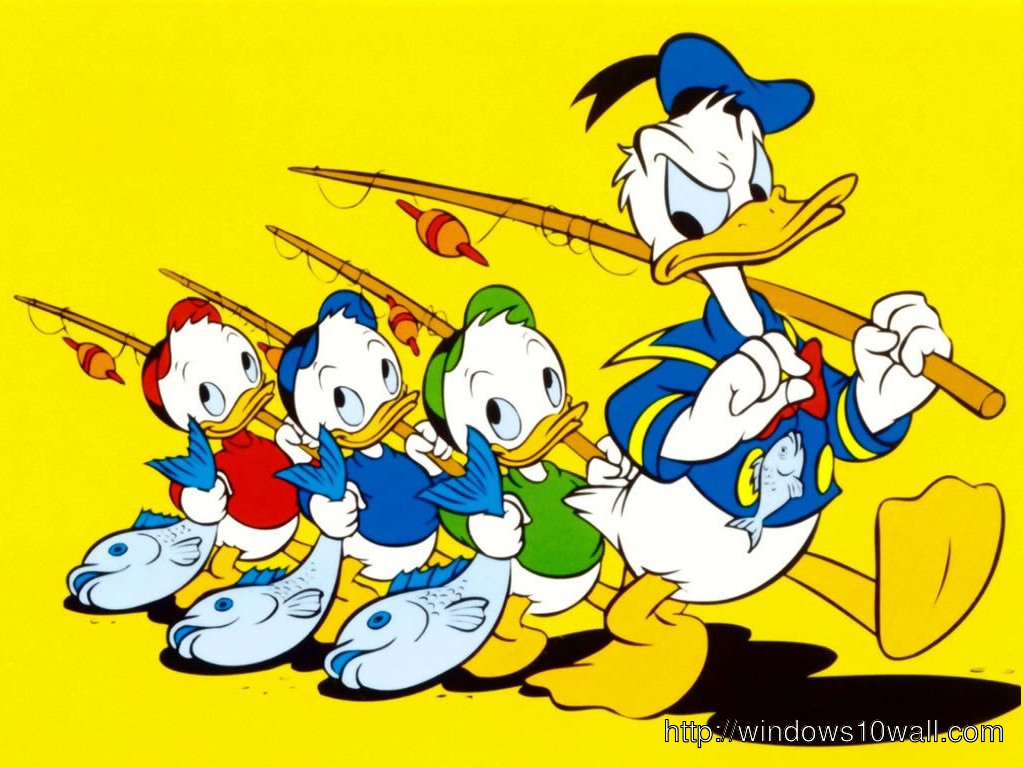 Duck Tales Character Wallpaper