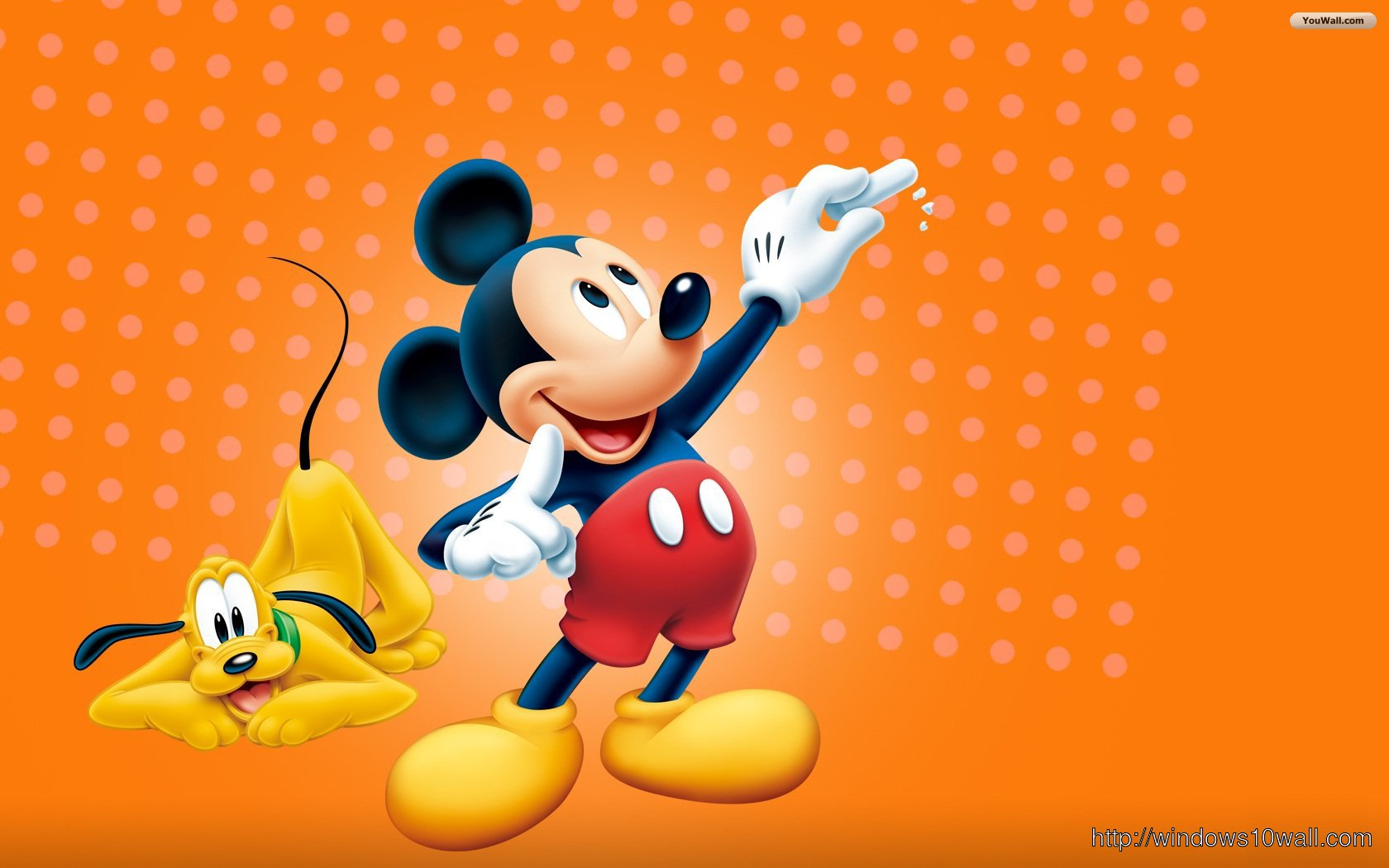 Disney Mickey Mouse Desktop Background Wallpaper
