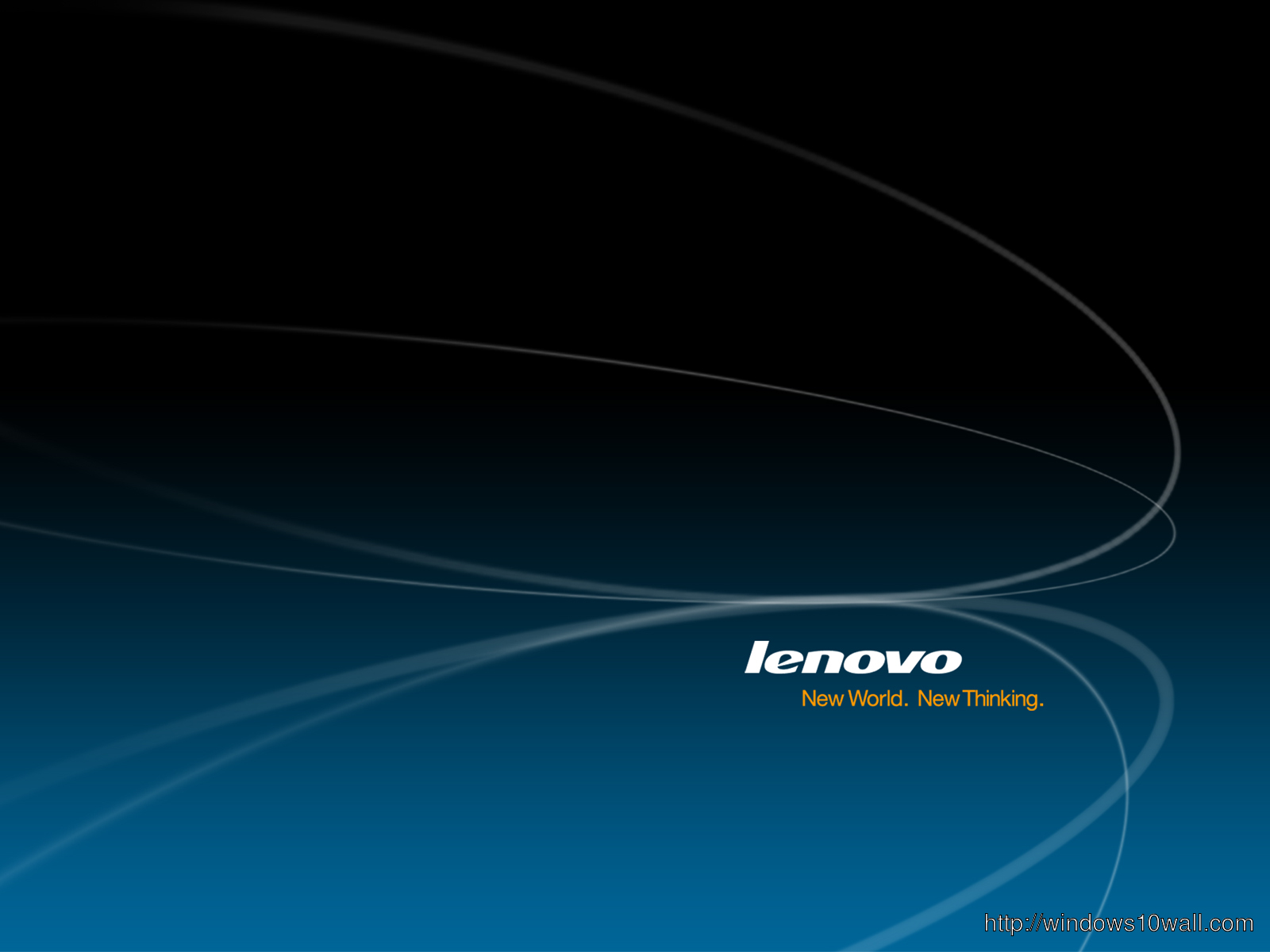 Lenovo Hi Resolution Dark Blue Black Wallpaper