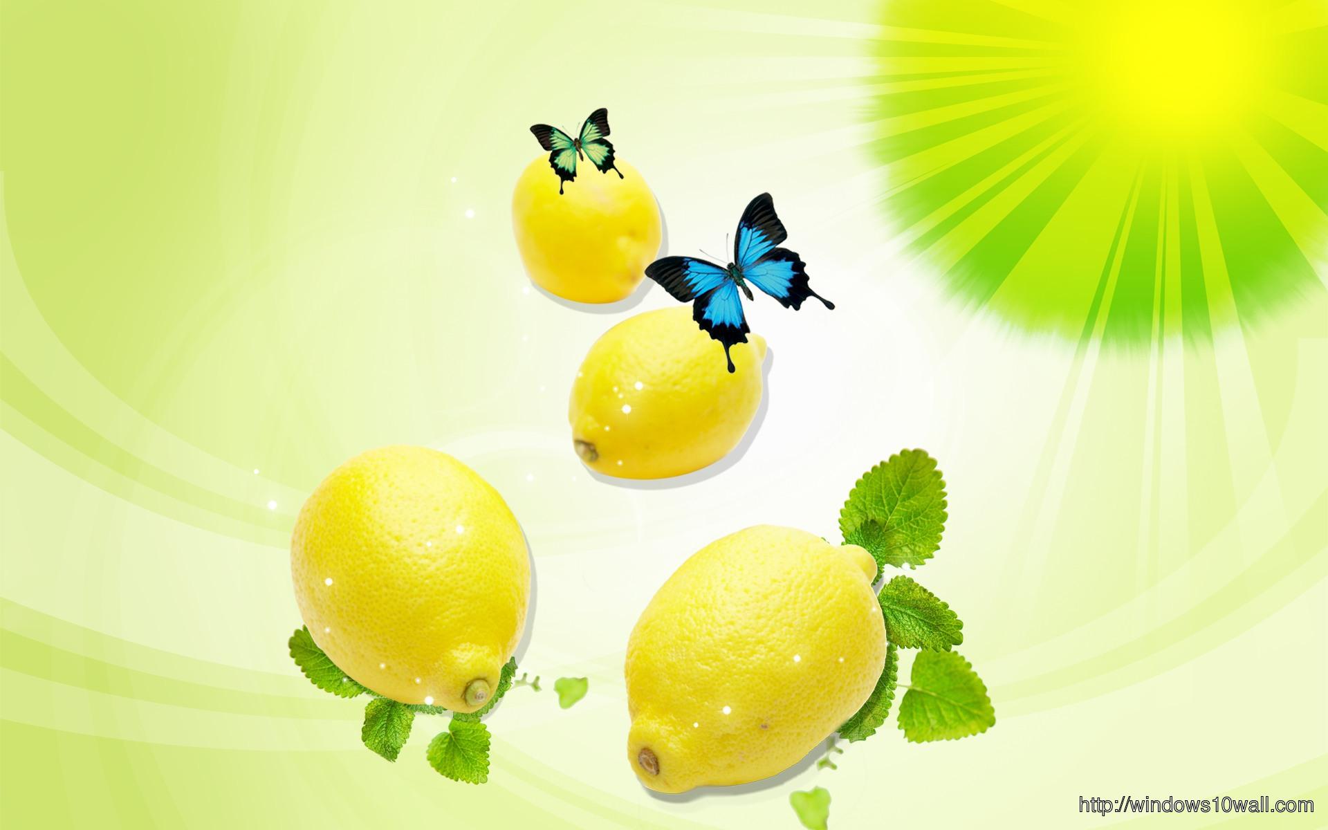 Digital Fruits Background Wallpaper