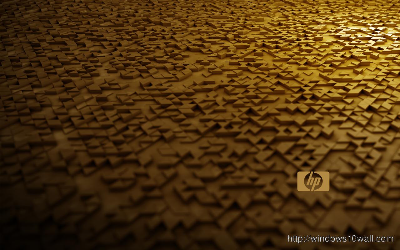 Hewlett Packard Bronze Background Wallpaper Windows 10