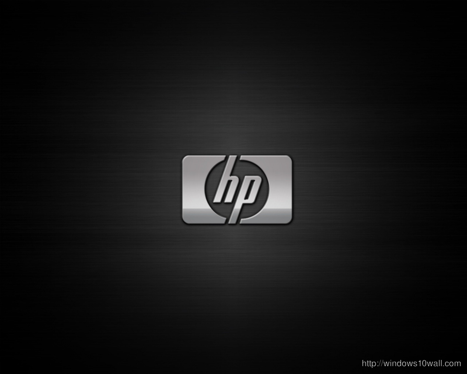HP In Black Background Wallpaper