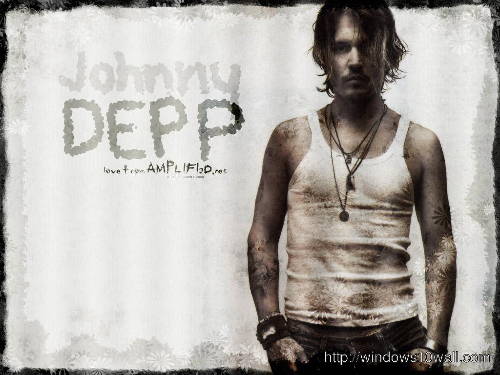 Hollywood Movie Star Johnny Depp Wallpaper