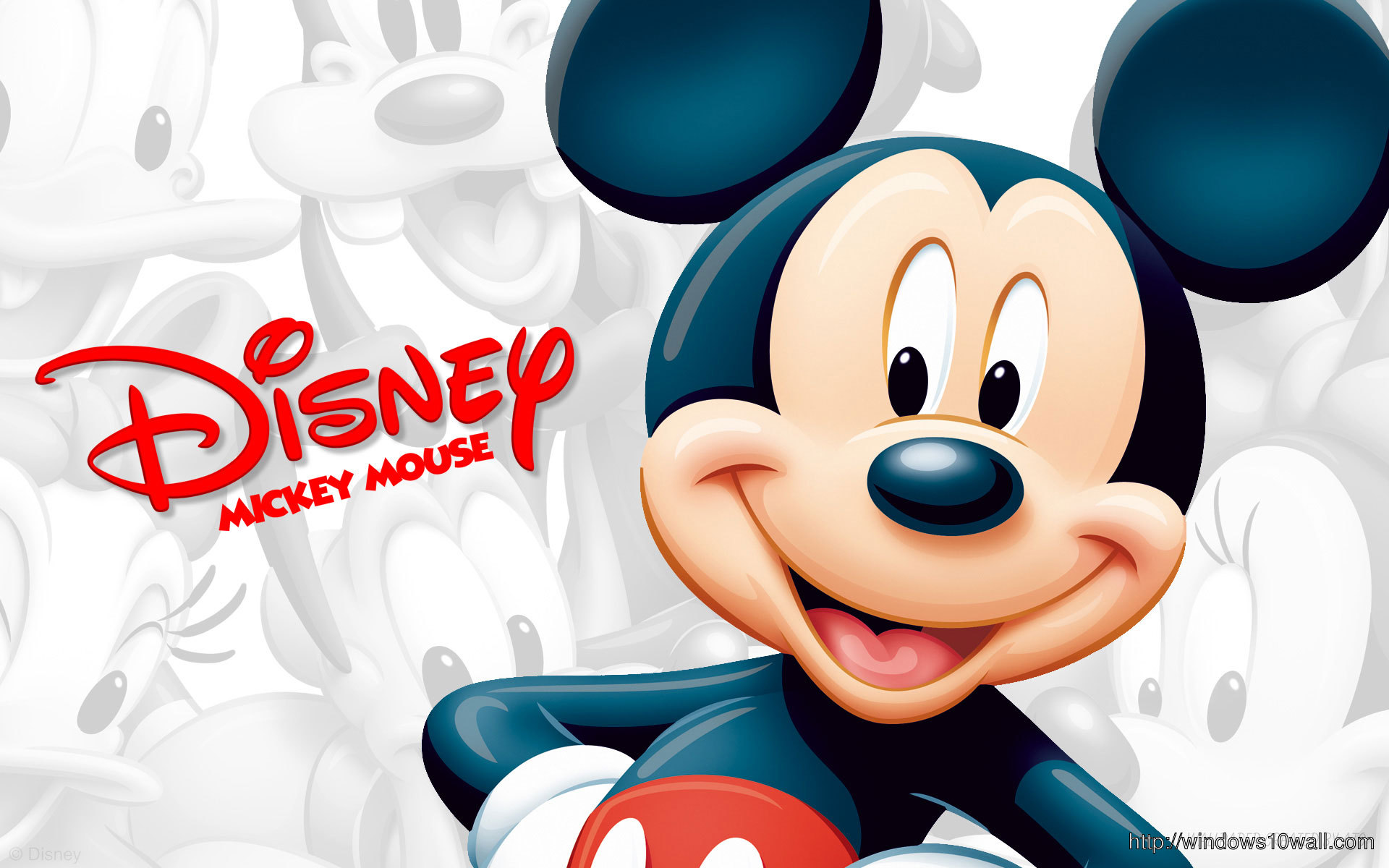 Mickey Mouse Hd Desktop Background Wallpaper
