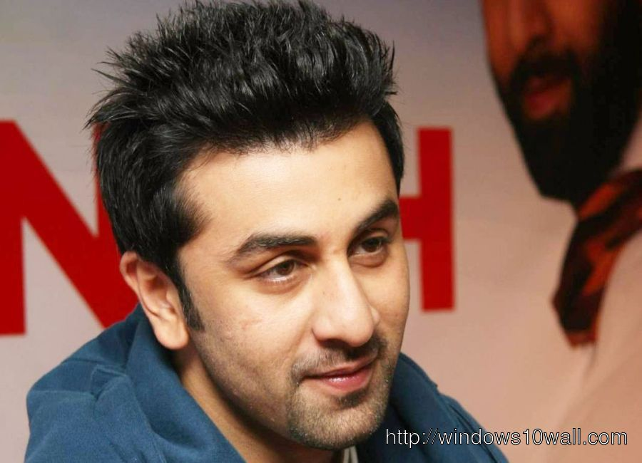 Bollywood Celebrity Ranbir Kapoor Background Wallpaper
