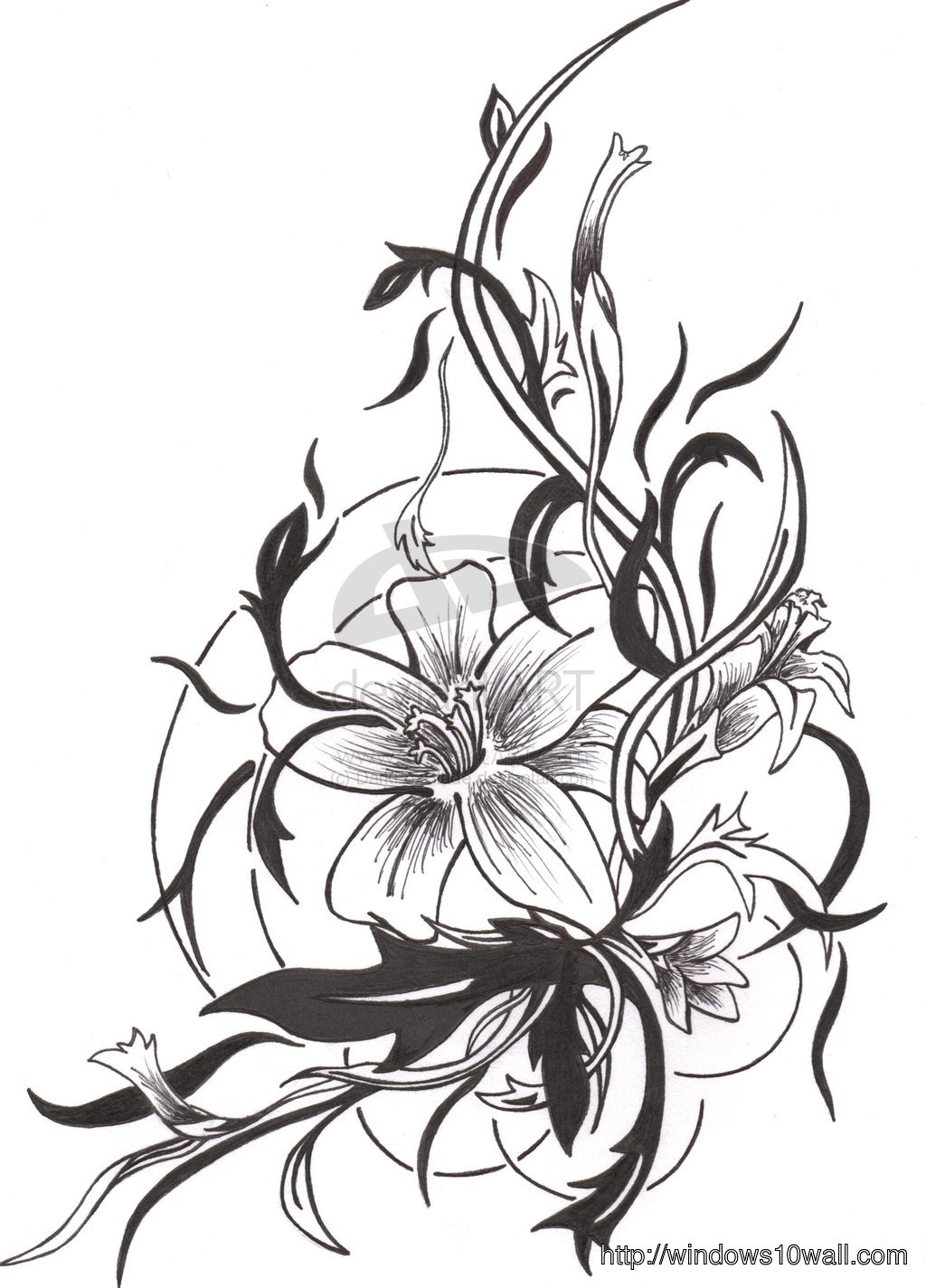 Tattoo Design 2013 Latest Background Pic