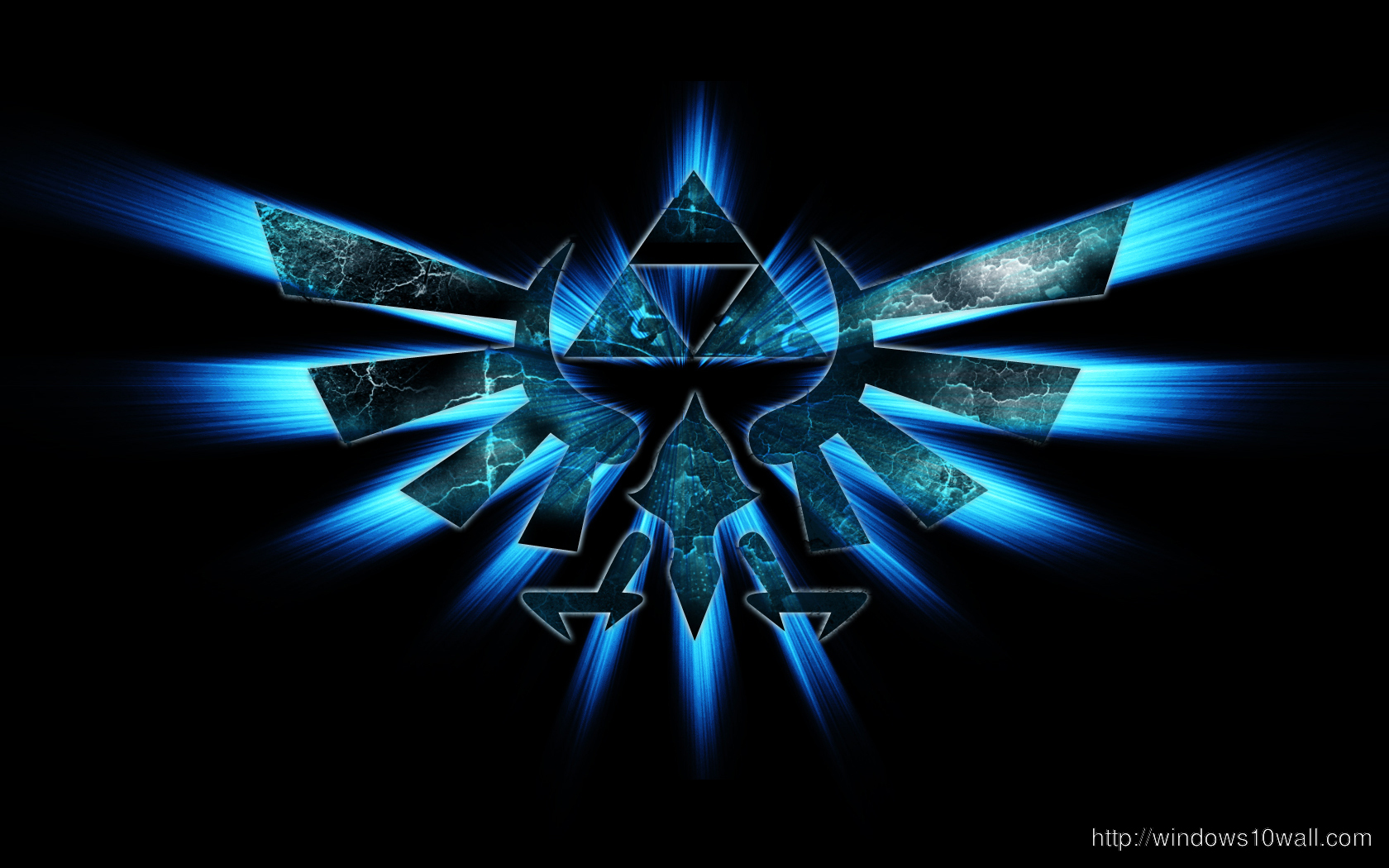 Triforce Zelda Logo Wallpaper