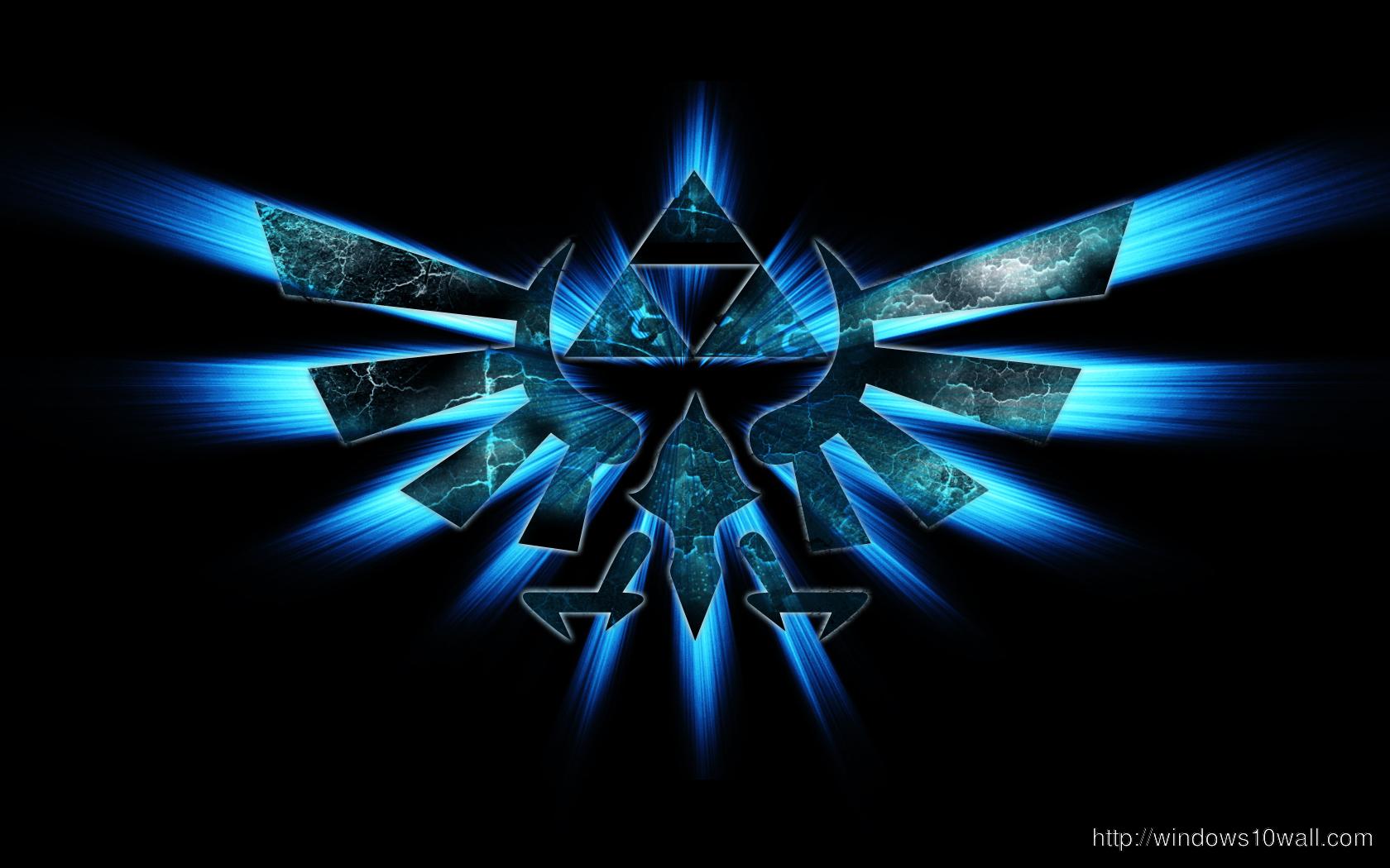 Triforce Zelda Logo Wallpaper