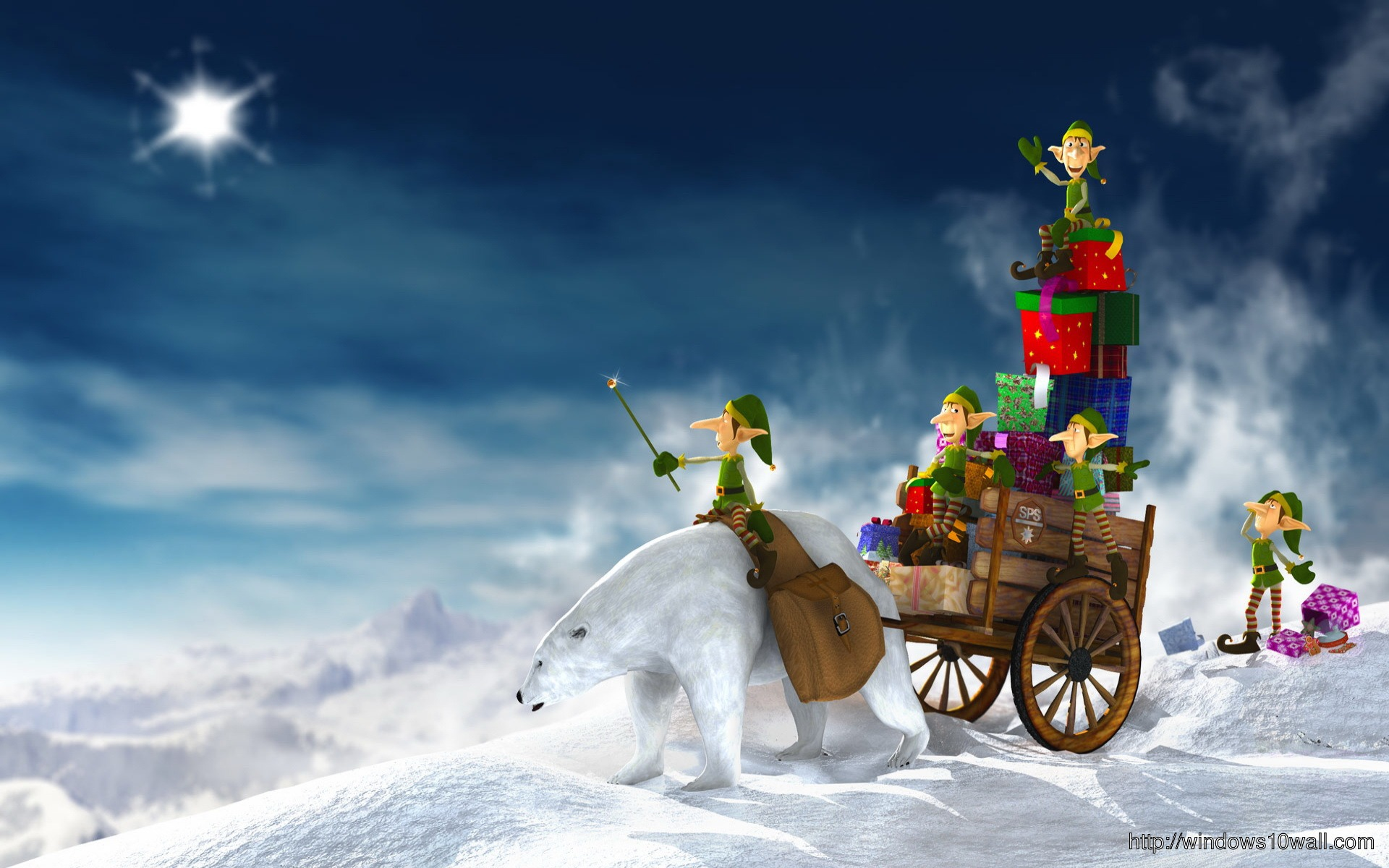 Winter Christmas Wallpapers Windows 10 Wallpapers
