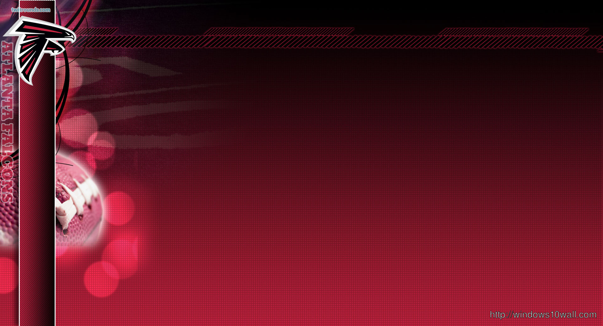 Atlanta Falcons Reddish Twitter Background Wallpaper