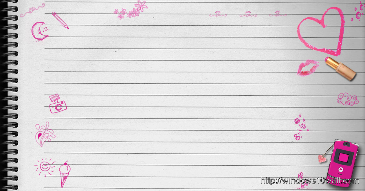 My Diary My Note Twitter Background Wallpaper