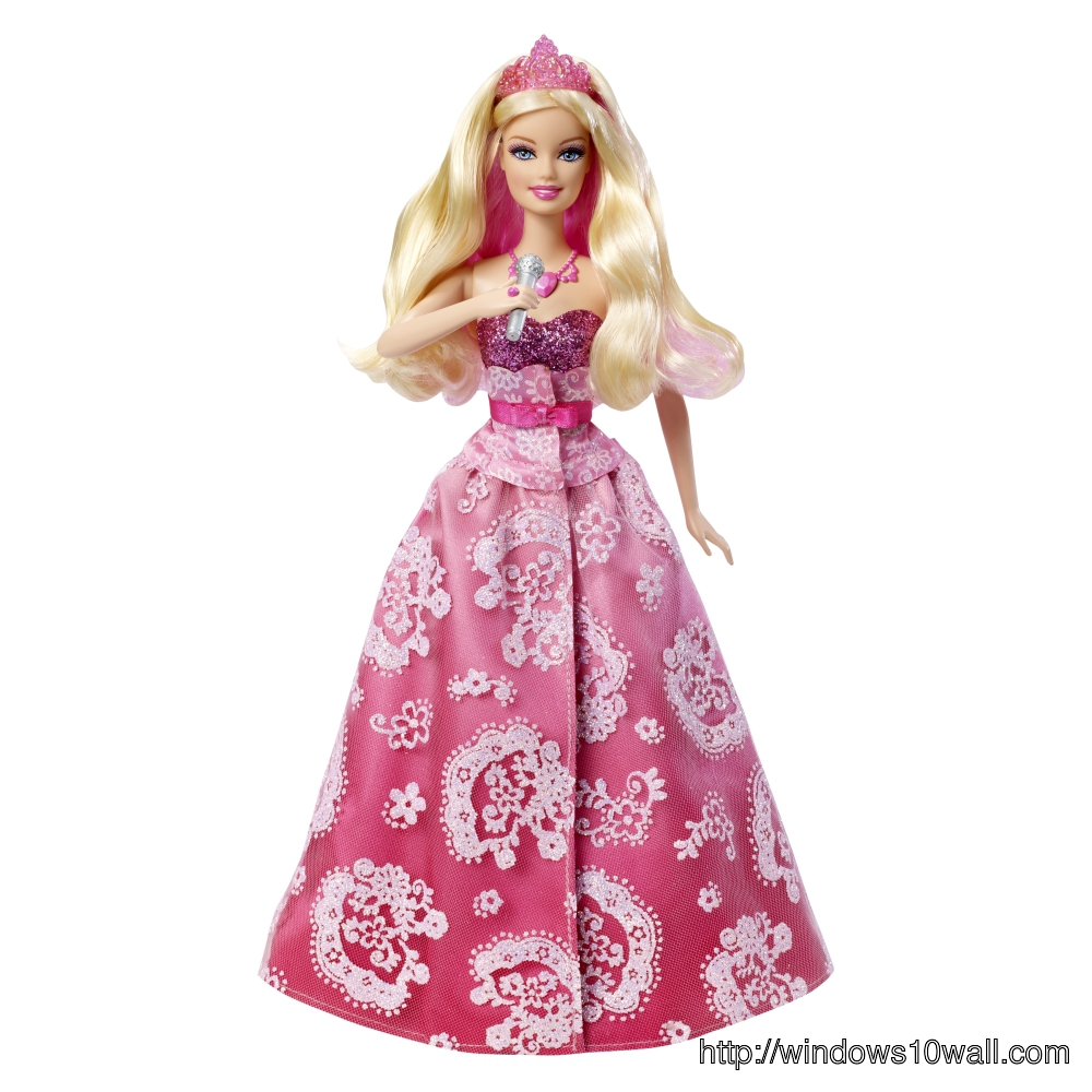 Latest Princess Barbie Doll Wallpaper 1080p