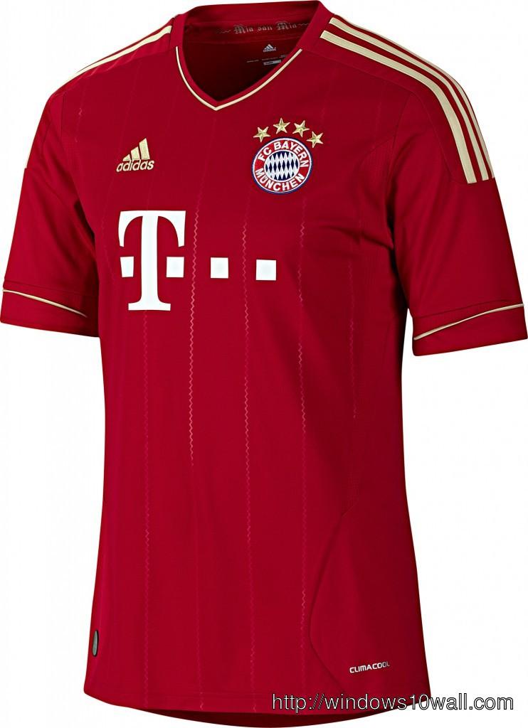 Bayern Munich Home T-Shirt Wallpaper