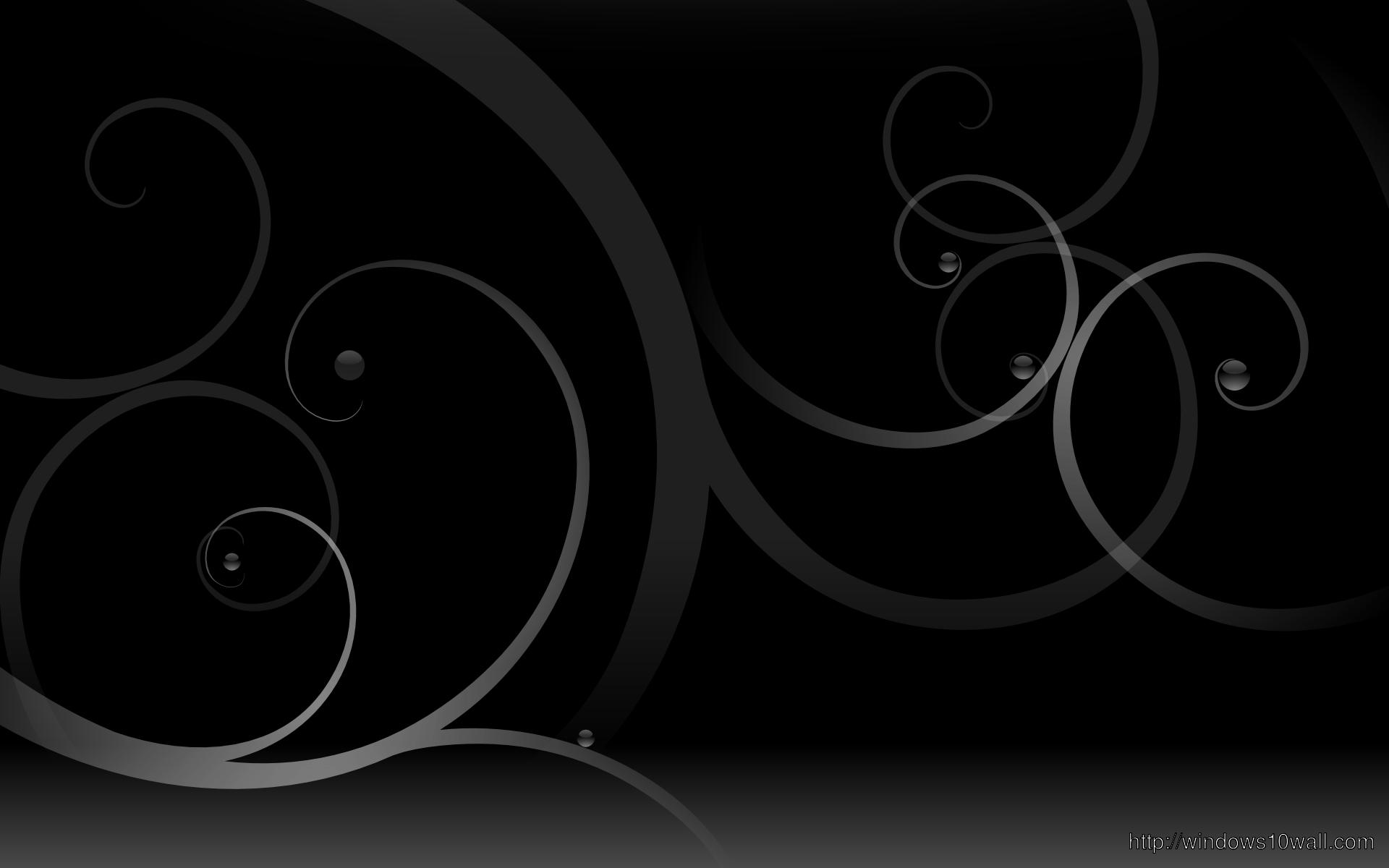 Background Image Dark Black