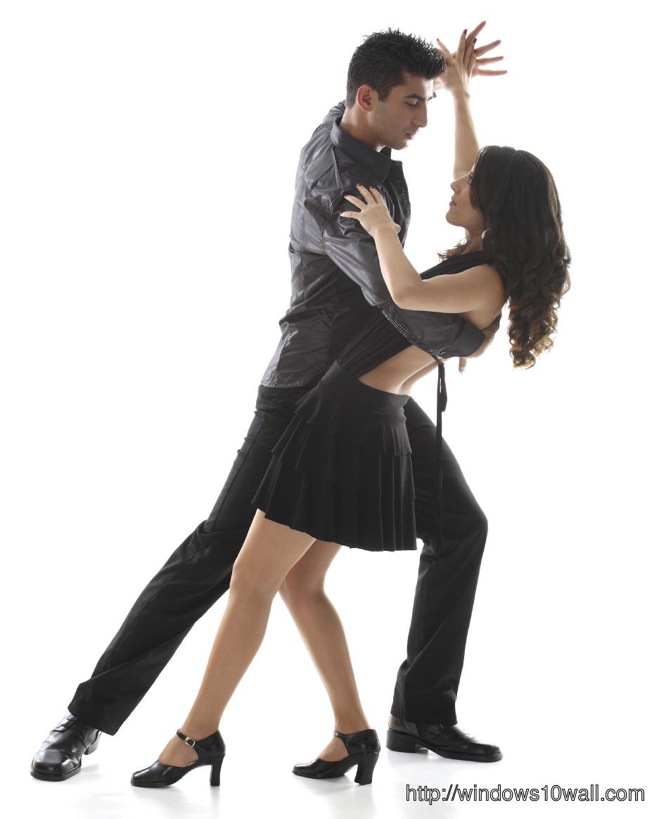 Burlingame Salsa Dancing Background Wallpaper