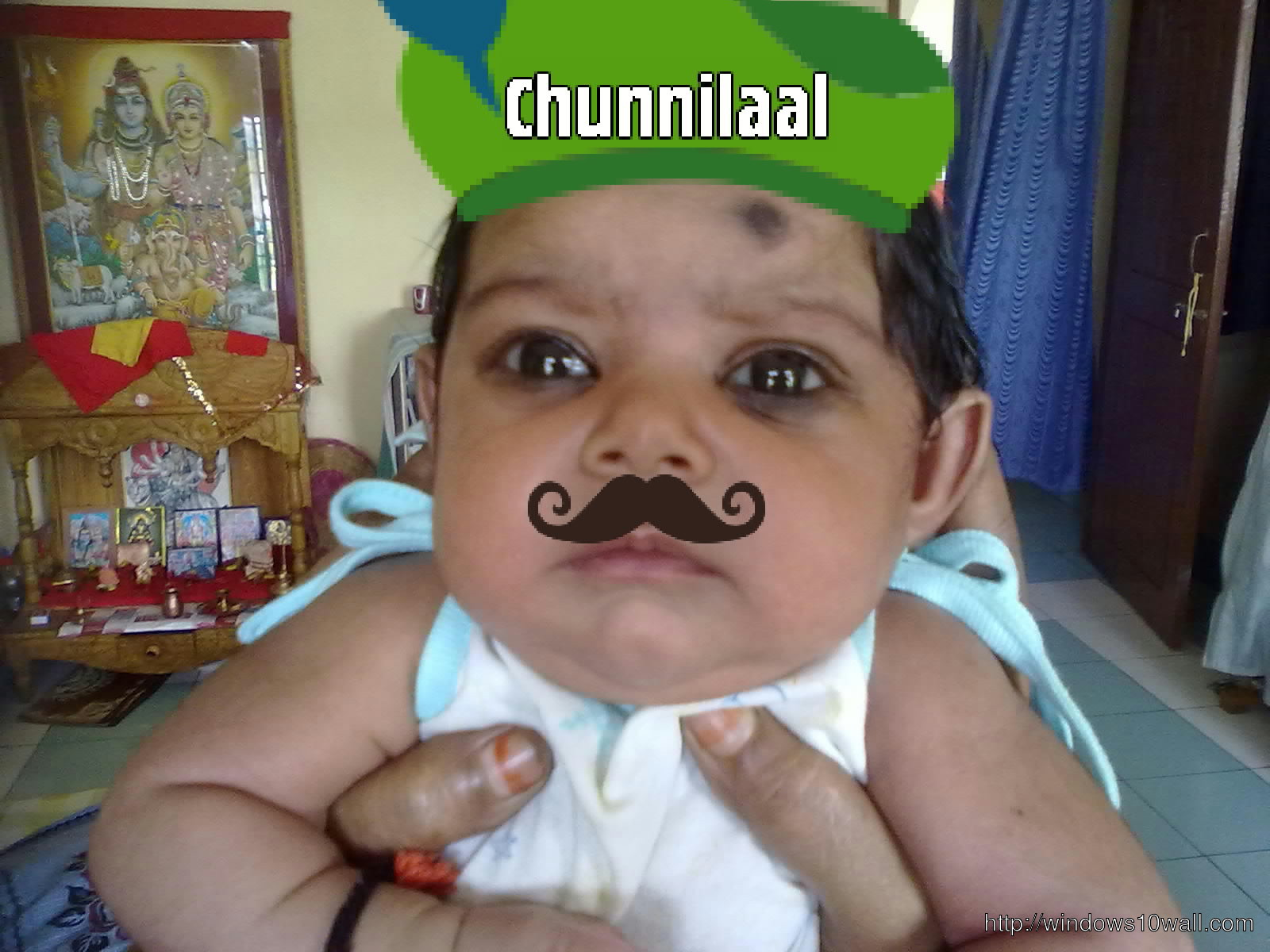 Funny Cool Kid Chunnilaal Wallpaper