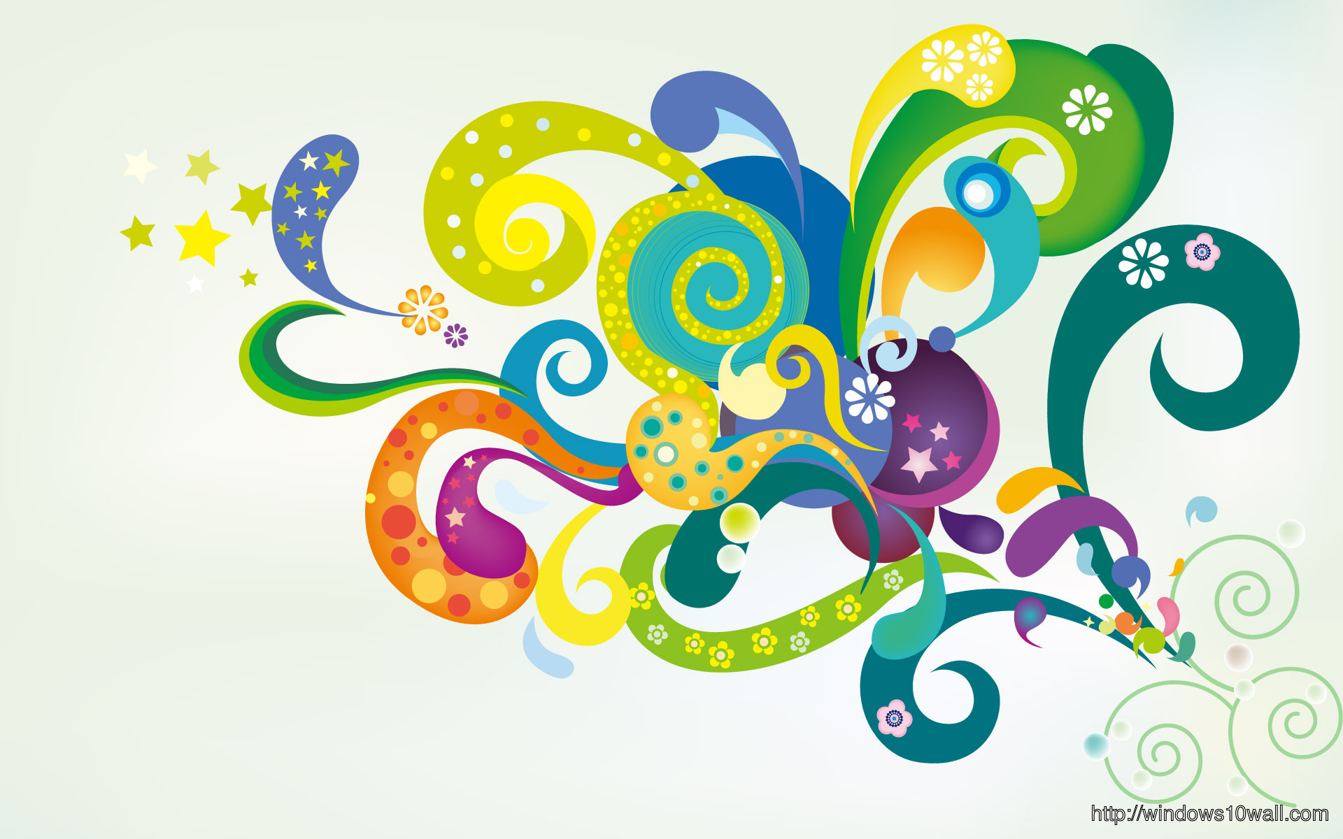 High Quality Vector Style Background Wallpaper