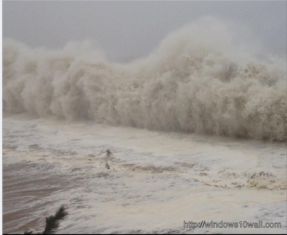 Hurricane Sandy Storm Pic