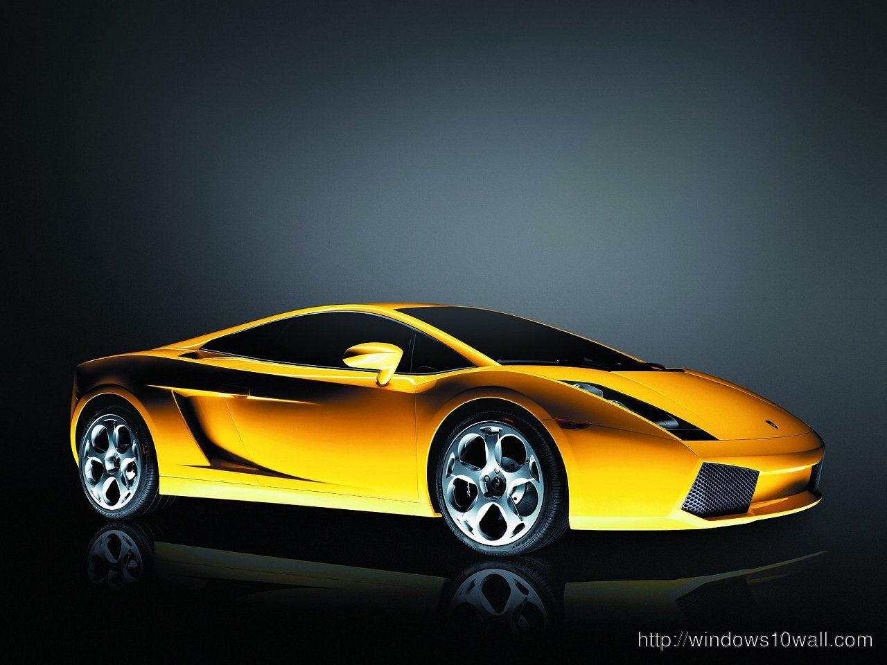 High Resolution Lamborghini Gallardo Background Wallpaper