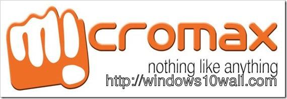 Micromax HD Logo Wallpaper